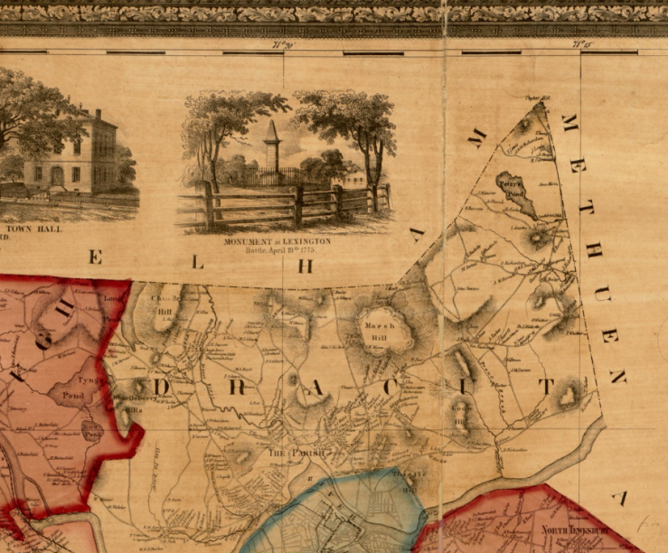 Closeup from Levanthal map room BPL