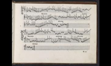 Ottaviano Petrucci's Harmonice Musices Odhecaton, 1501.